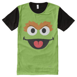 Oscar Face Art All-Over Print T-Shirt