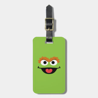 Oscar Face Art Luggage Tag