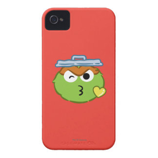 Oscar Face Throwing a Kiss iPhone 4 Case-Mate Cases