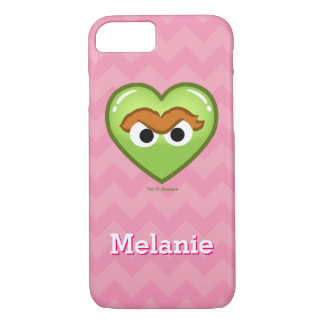 Oscar Heart | Add Your Name iPhone 7 Case