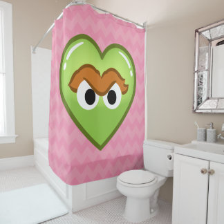 Oscar Heart Shower Curtain