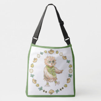 Oscar Owl Baby Tote Bag
