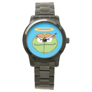 Oscar Smiling Face with Halo Wrist Watch