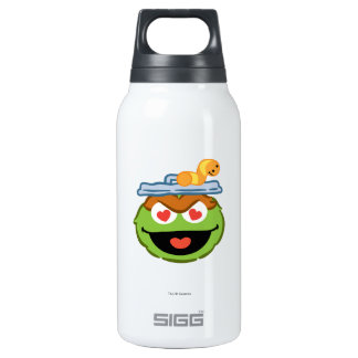 Oscar Smiling Face with Heart-Shaped Eyes Insulated Water Bottle