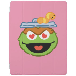 Oscar Smiling Face with Heart-Shaped Eyes iPad Cover