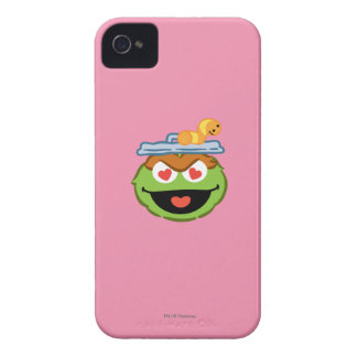 Oscar Smiling Face with Heart-Shaped Eyes iPhone 4 Covers