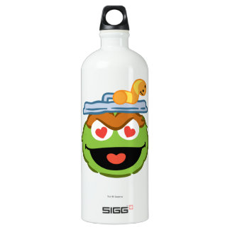 Oscar Smiling Face with Heart-Shaped Eyes Water Bottle