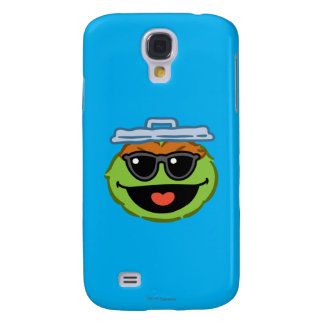 Oscar Smiling Face with Sunglasses Galaxy S4 Case