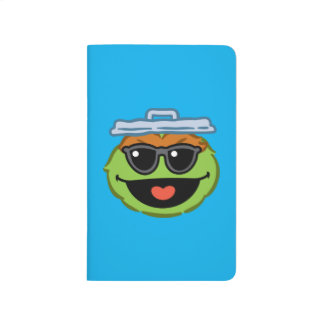 Oscar Smiling Face with Sunglasses Journal