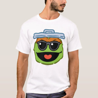 Oscar Smiling Face with Sunglasses T-Shirt
