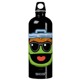 Oscar Smiling Face with Sunglasses Water Bottle