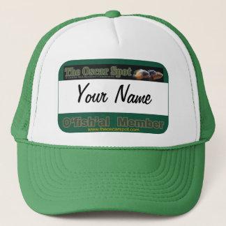 Oscar Spot Ofishal Name Tag Template Trucker Hat