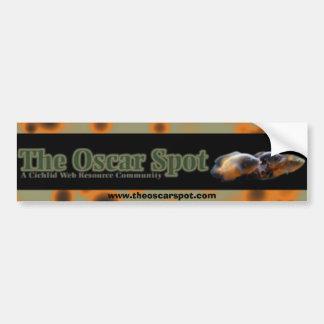 Oscar Spots Car Bumper Sticker