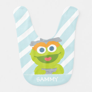Oscar the Grouch Baby | Add Your Name Bibs
