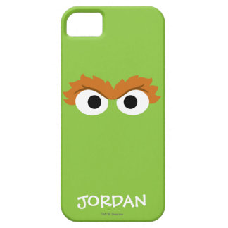 Oscar the Grouch Big Face | Add Your Name iPhone 5 Cases