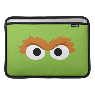 Oscar the Grouch Big Face Sleeve For MacBook Air