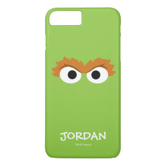Oscar the Grouch Big Face | Your Name iPhone 8 Plus/7 Plus Case