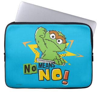Oscar the Grouch Comic Laptop Sleeve