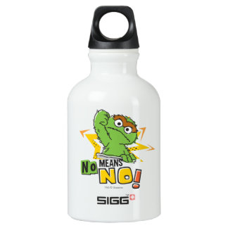 Oscar the Grouch Comic Water Bottle