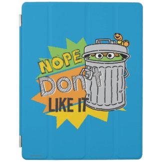 Oscar the Grouch Don't Like iPad Cover