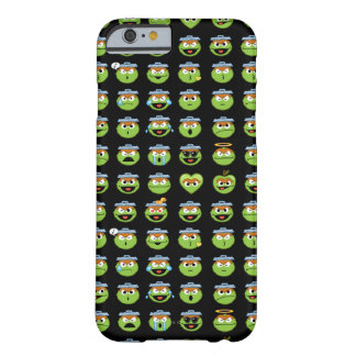 Oscar the Grouch Emoji Pattern Barely There iPhone 6 Case