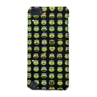 Oscar the Grouch Emoji Pattern iPod Touch 5G Covers