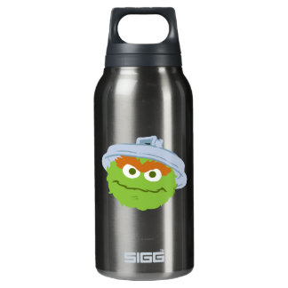 Oscar the Grouch Face Insulated Water Bottle