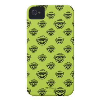 Oscar the Grouch Green Pattern Case-Mate iPhone 4 Cases