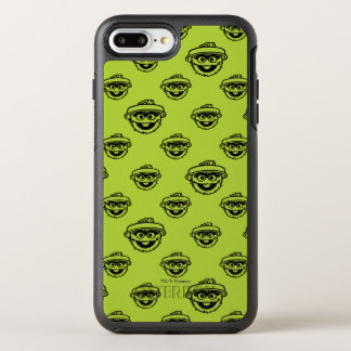 Oscar the Grouch Green Pattern OtterBox Symmetry iPhone 8 Plus/7 Plus Case