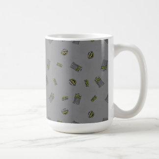 Oscar the Grouch | Grey Pattern Coffee Mug