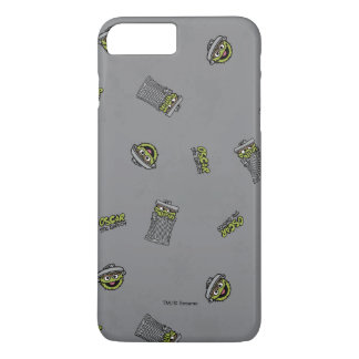 Oscar the Grouch | Grey Pattern iPhone 8 Plus/7 Plus Case