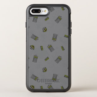 Oscar the Grouch | Grey Pattern OtterBox Symmetry iPhone 8 Plus/7 Plus Case