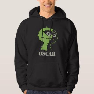 Oscar the Grouch Half Hoodie