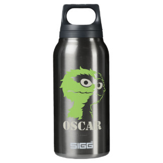 Oscar the Grouch Half Insulated Water Bottle