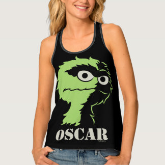 Oscar the Grouch Half Tank Top