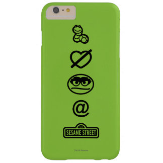 Oscar the Grouch Icons Barely There iPhone 6 Plus Case
