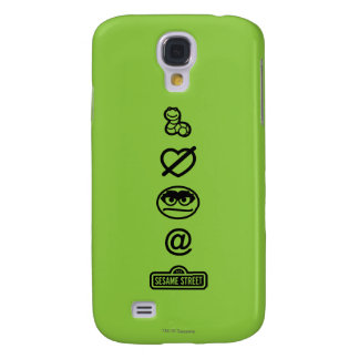 Oscar the Grouch Icons Galaxy S4 Case