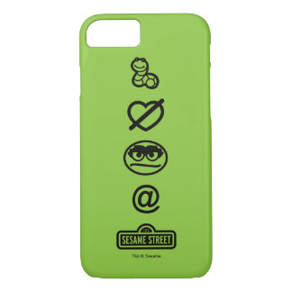 Oscar the Grouch Icons iPhone 8/7 Case