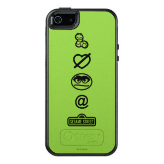 Oscar the Grouch Icons OtterBox iPhone 5/5s/SE Case