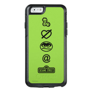 Oscar the Grouch Icons OtterBox iPhone 6/6s Case