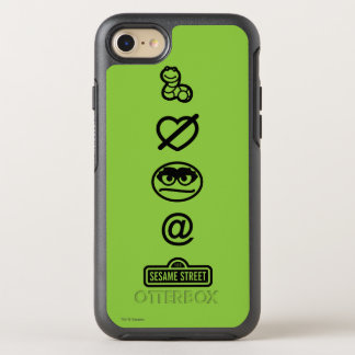 Oscar the Grouch Icons OtterBox Symmetry iPhone 8/7 Case