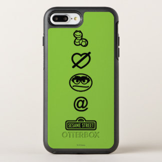 Oscar the Grouch Icons OtterBox Symmetry iPhone 8 Plus/7 Plus Case