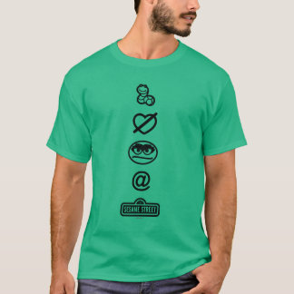 Oscar the Grouch Icons T-Shirt