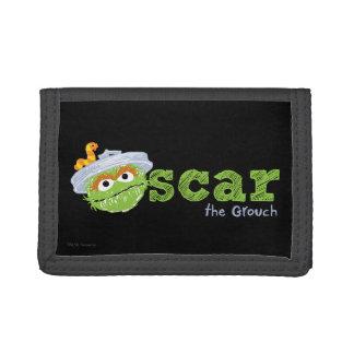 Oscar the Grouch Name Tri-fold Wallet