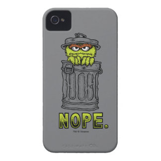 Oscar the Grouch - Nope. iPhone 4 Covers