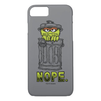 Oscar the Grouch - Nope. iPhone 8/7 Case