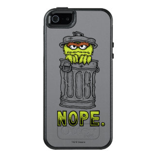 Oscar the Grouch - Nope. OtterBox iPhone 5/5s/SE Case