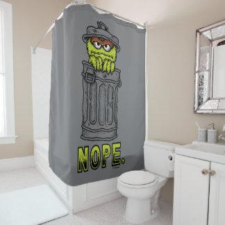Oscar the Grouch - Nope. Shower Curtain