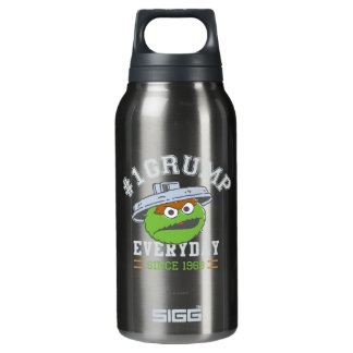 Oscar the Grouch Number 1 Insulated Water Bottle