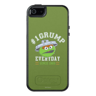 Oscar the Grouch Number 1 OtterBox iPhone 5/5s/SE Case